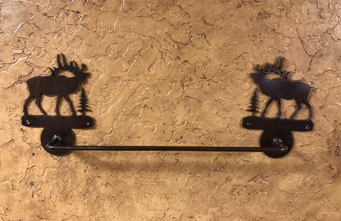 Elk Towel Bar - Rusty Moose Marketplace