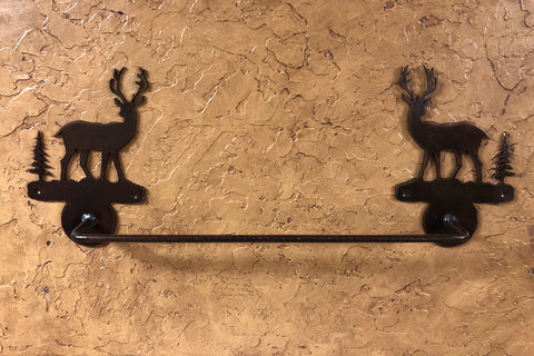 Deer Towel Bar - Rusty Moose Marketplace