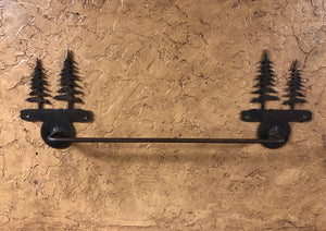 Trees Towel Bar - Rusty Moose Marketplace