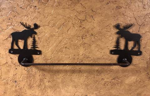 Moose Towel Bar - Rusty Moose Marketplace