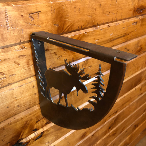 Moose Shelf Bracket Set - Rusty Moose Marketplace
