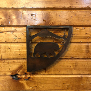 Bear Shelf Bracket Set - Rusty Moose Marketplace