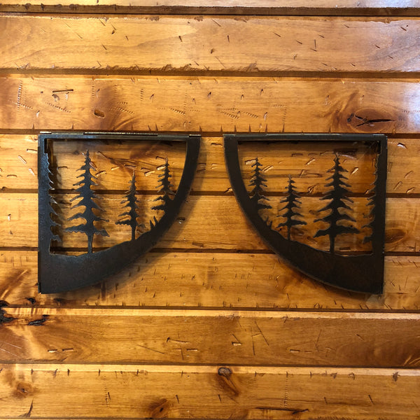 Trees Shelf Bracket Set - Rusty Moose Marketplace