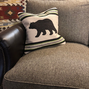 Cream Bear Pillow - Rusty Moose Marketplace