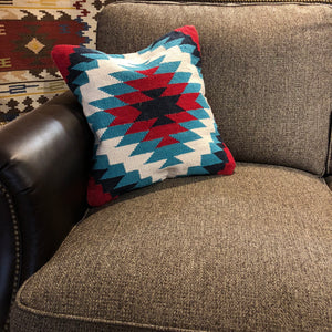 Turquoise Tundra Pillow - Rusty Moose Marketplace