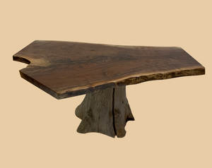 Rustic Walnut Coffee Table   Rusty Moose Marketplace