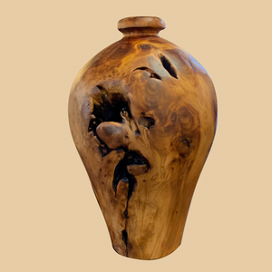 Carved Fir Vase (Large) - Rusty Moose Marketplace