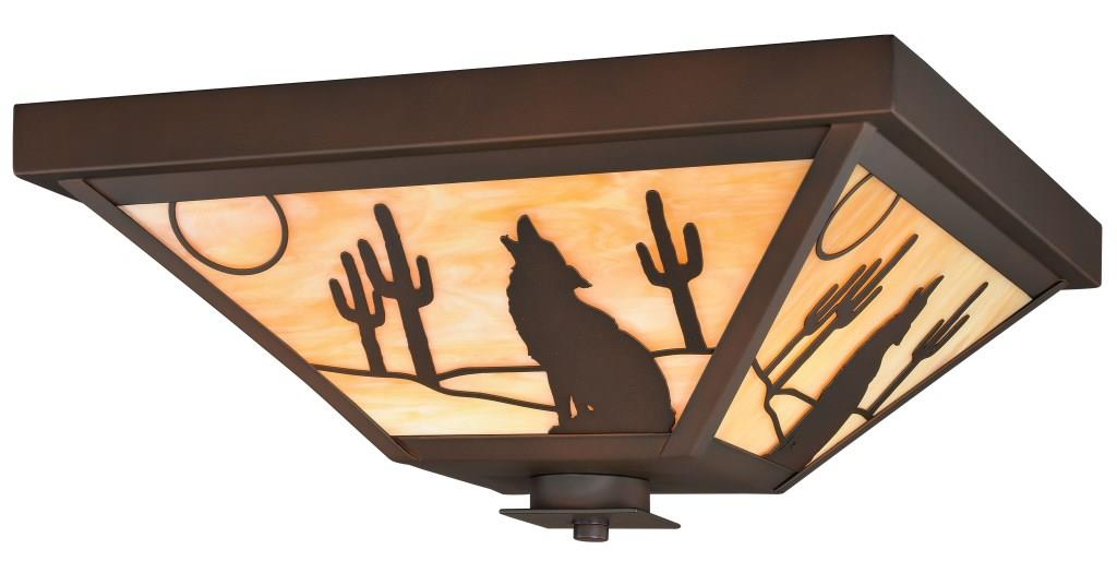 "Calexico 14"" Flushmount - Rusty Moose Marketplace"