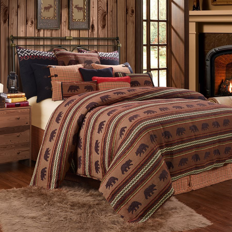 Bayfield Bear Duvet Set - Rusty Moose Marketplace