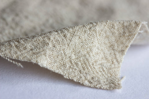 Linen fabric closeup