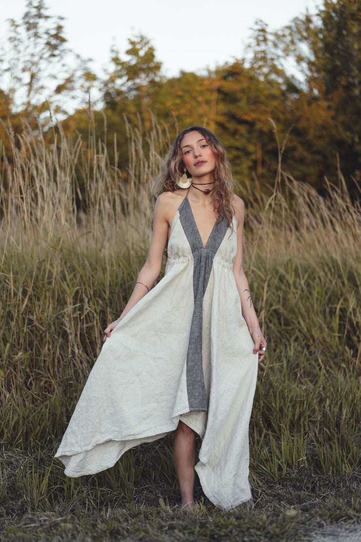 hemp summer dress