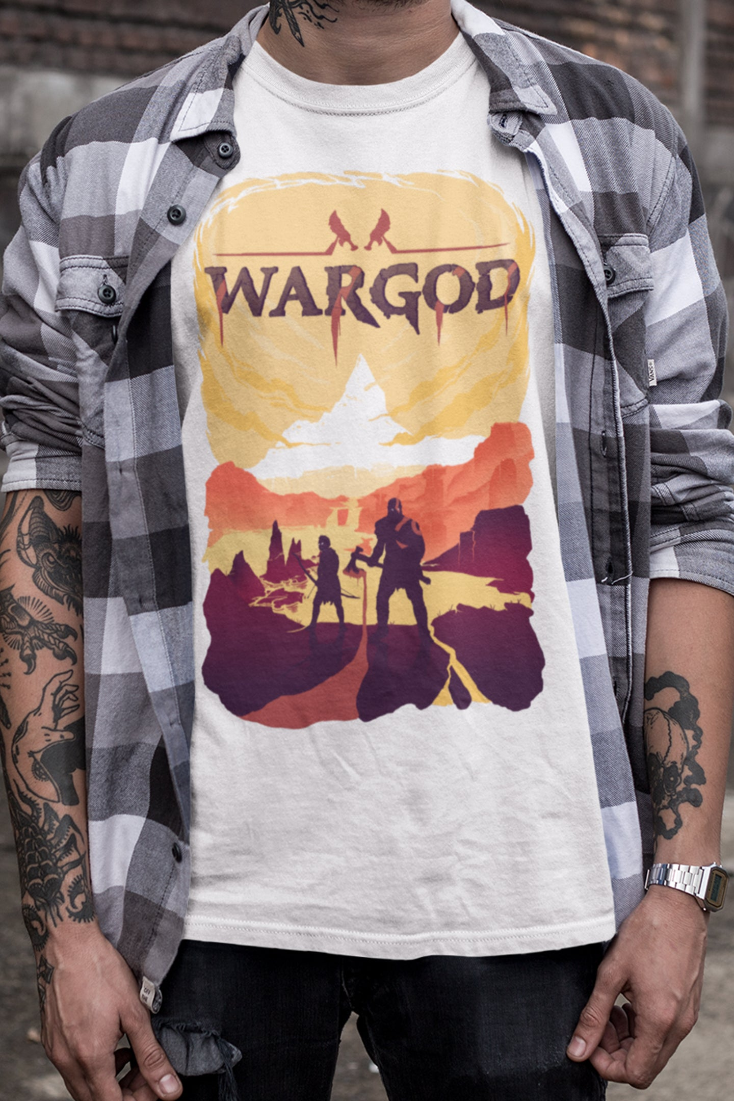 LeechTM - War God of Sparta Shirt - LeechTM