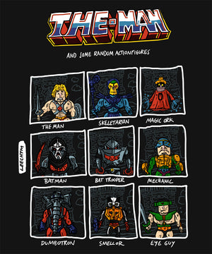 TheMan and the Actionfigures of the Universe Shirt - LeechTM