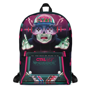 ctrl/alt/regeek - Brainguy Backpack - LeechTM
