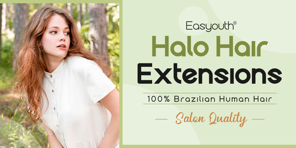 Halo Human Hair Extensions