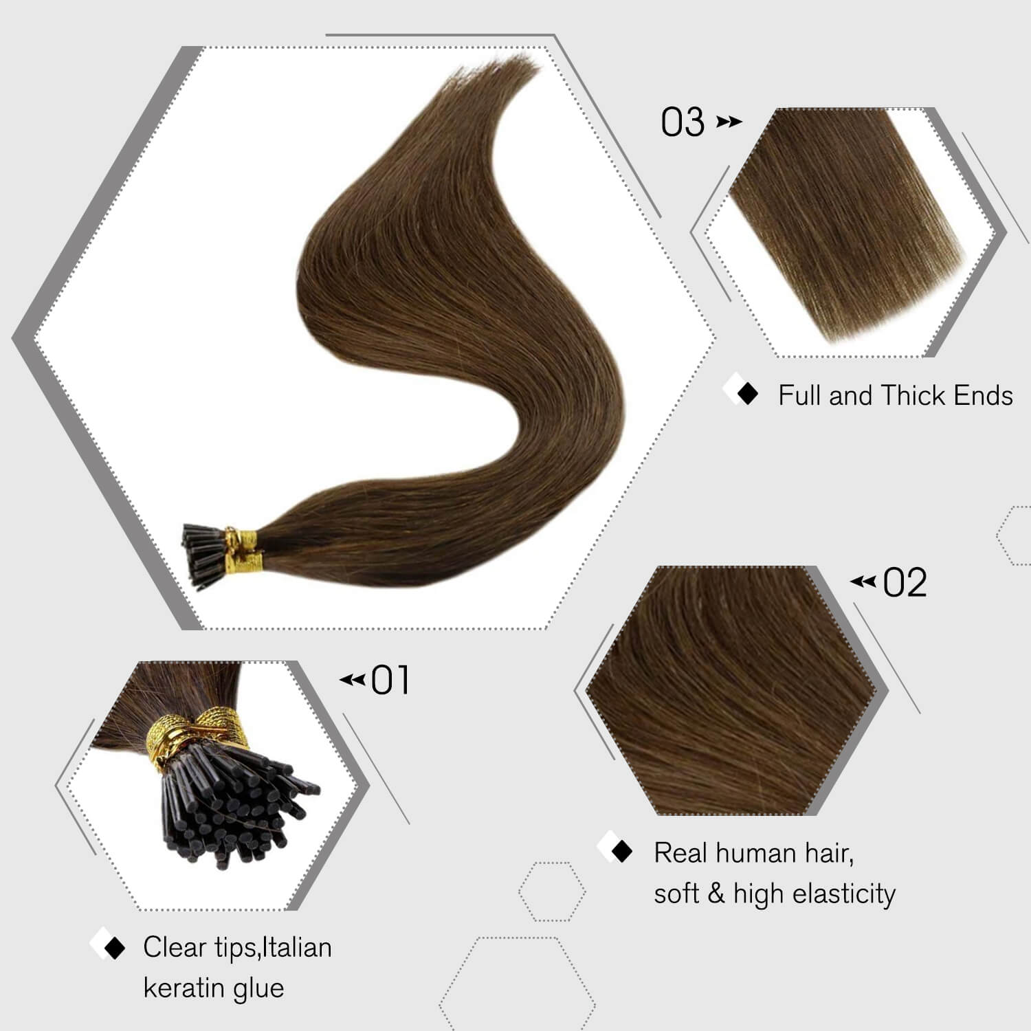 i tip fusion hair extensions