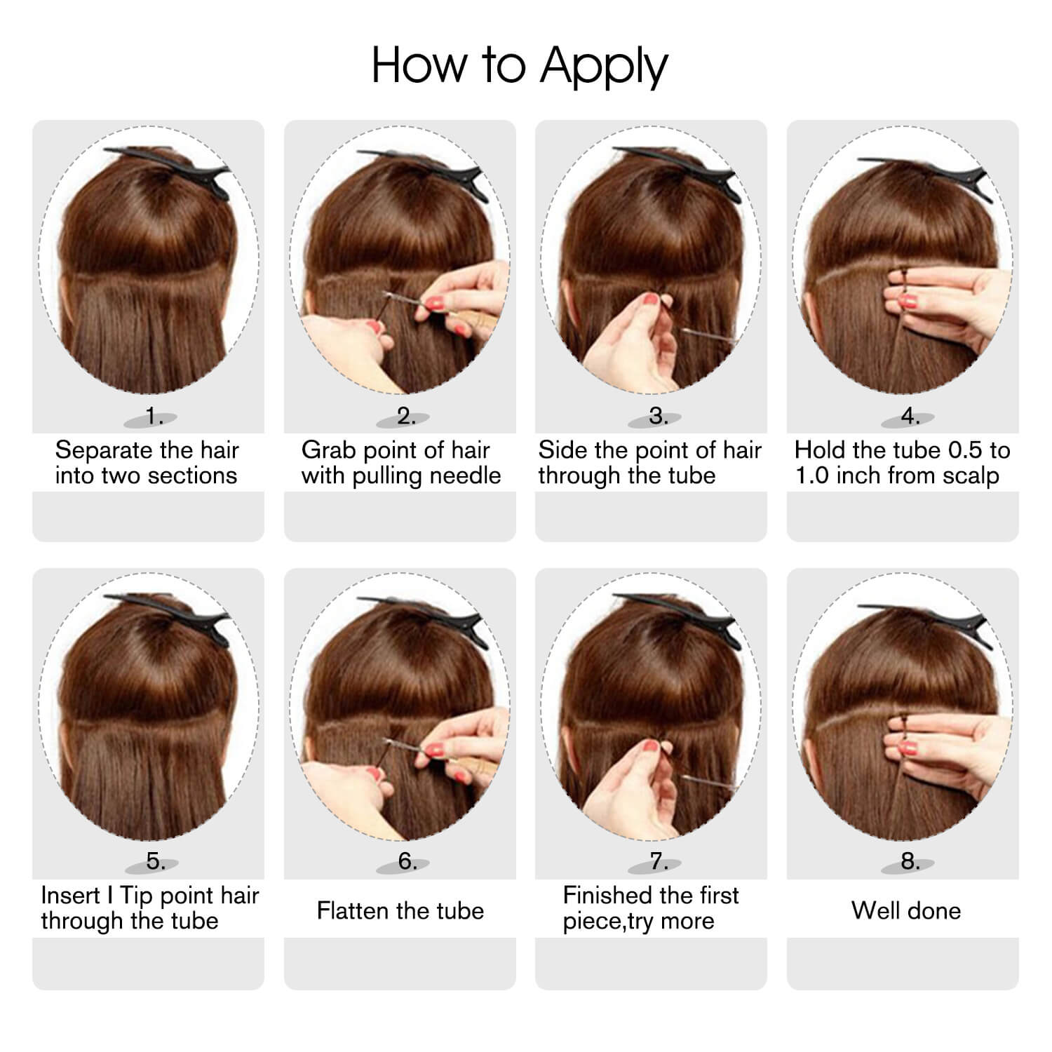 i tip hair extensions remy human hair