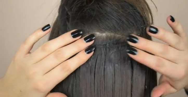 remove tape in hair extensions