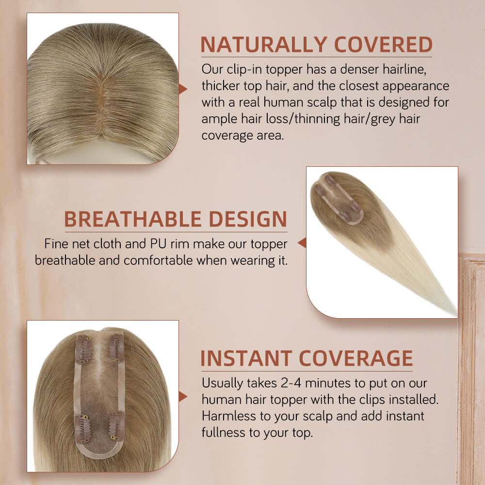 Toppers Hair Pieces