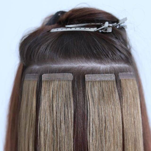 tape in hair extensions remy hair