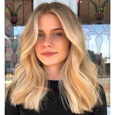 Topper 100% Remy Human Hair 12*6cm Ombre Straight Color #18P613,Easyouth