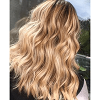 Topper 100% Remy Human Hair 1.5*5 inch Ombre Color #14/613,Easyouth
