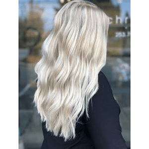 Topper 100% Remy Human Hair 1.5*5 inch Ombre Color #18/22/60,Easyouth