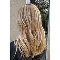 Topper 100% Remy Human Hair 1.5*5 inch Ombre Color #18/613,Easyouth