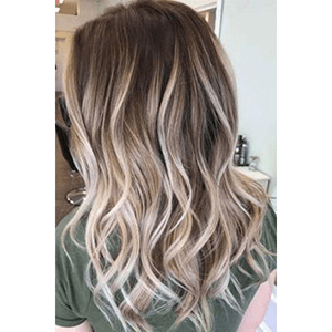Topper 100% Remy Human Hair 1.5*5 inch Ombre Color #3/8/22,Easyouth