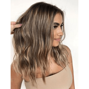 Topper 100% Remy Human Hair 13*13 cm Ombre Color #4P27,Easyouth