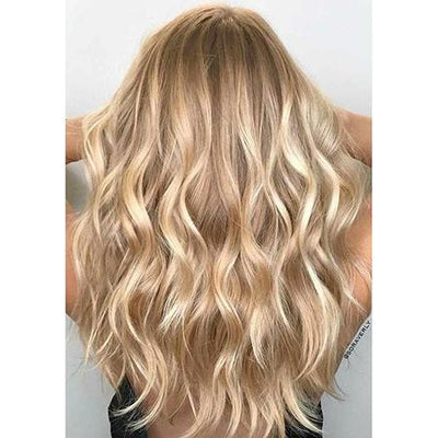 Topper 100% Remy Human Hair 12*6cm Ombre Straight Color #27P613,Easyouth
