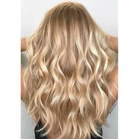 Topper 100% Remy Human Hair 12*6cm Ombre Straight Color #27P613
