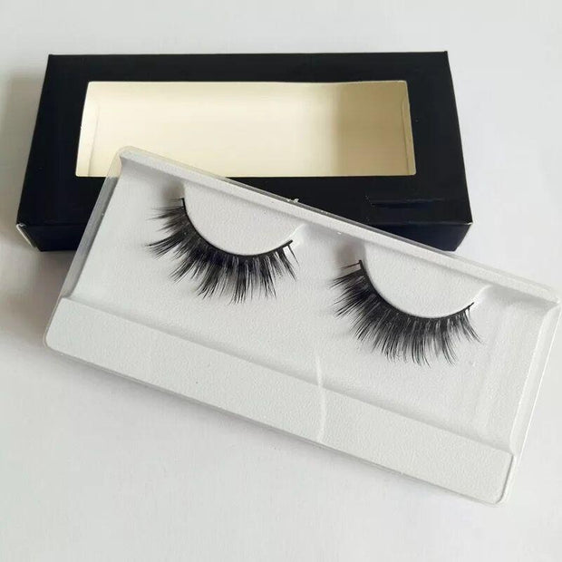 Handmade Luxe Mink Eyelashes 1 Pair #06,Easyouth