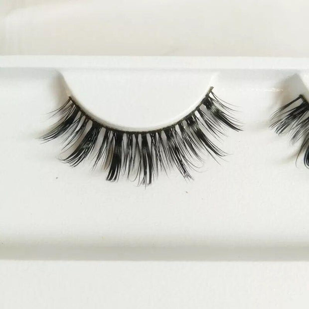 Handmade Luxe Mink Eyelashes 1 Pair #07,Easyouth