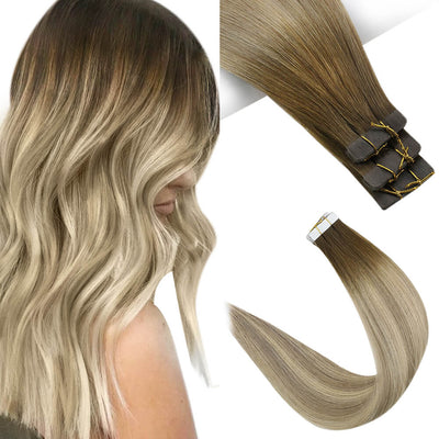 blonde balayage virgin tape in hair_3 8 22