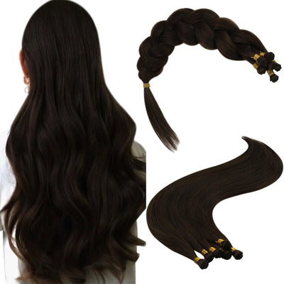 dark brown hair extensions hair weft