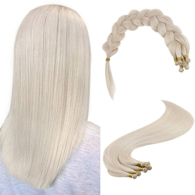 ice blonde hair extensions hair weft bundles