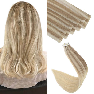 injection virgin tape in hair extensions