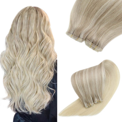 nordic hair weft bundles virgin human hair
