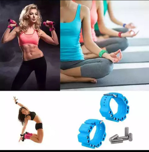 Adjustable fashionable wrist/ankle weights