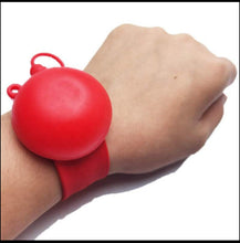 Load image into Gallery viewer, The EEZY SQUEEZY Sanitizer Slapband