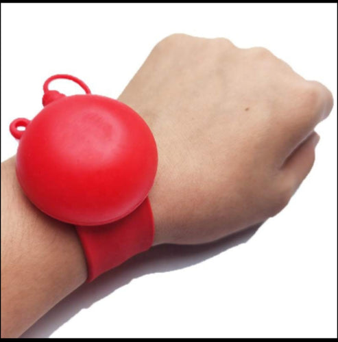 The EEZY SQUEEZY Sanitizer Slapband