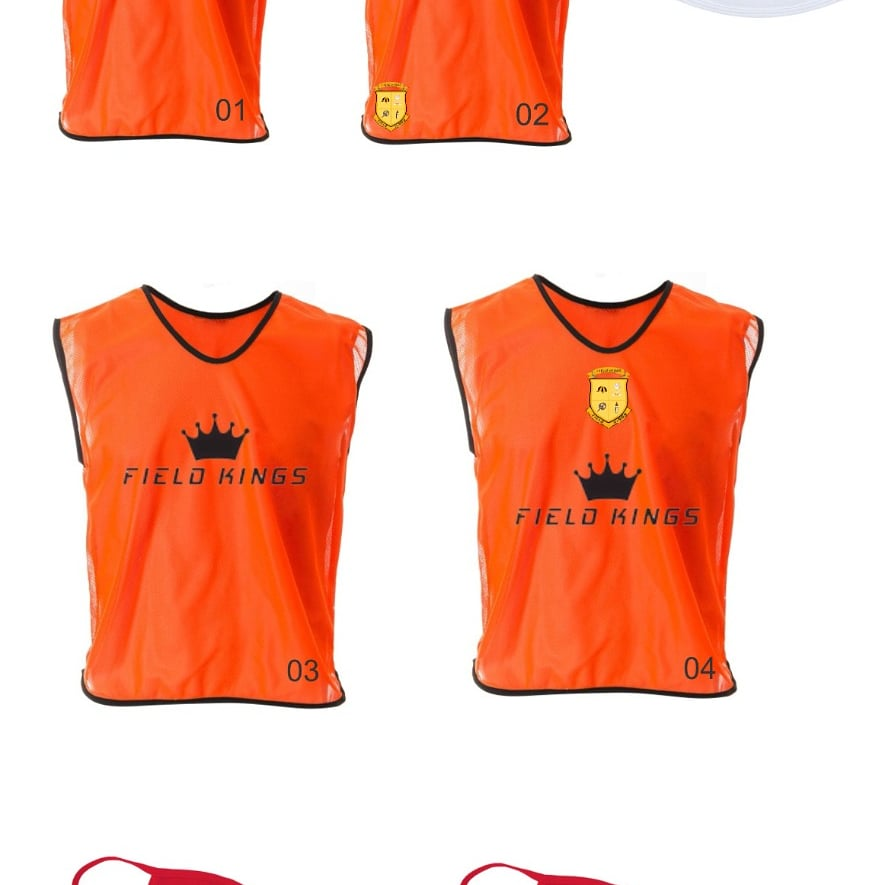 School/Club numbered Bibs