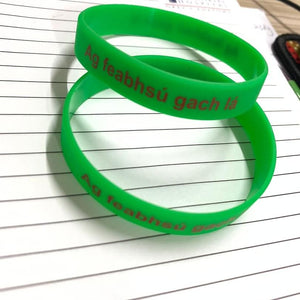 Customized Team wristbands