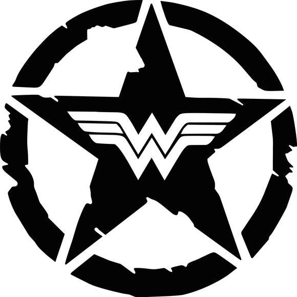 Wonder Woman Star - Large