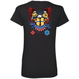 Itus-Virtus Ladies V-Neck Tee