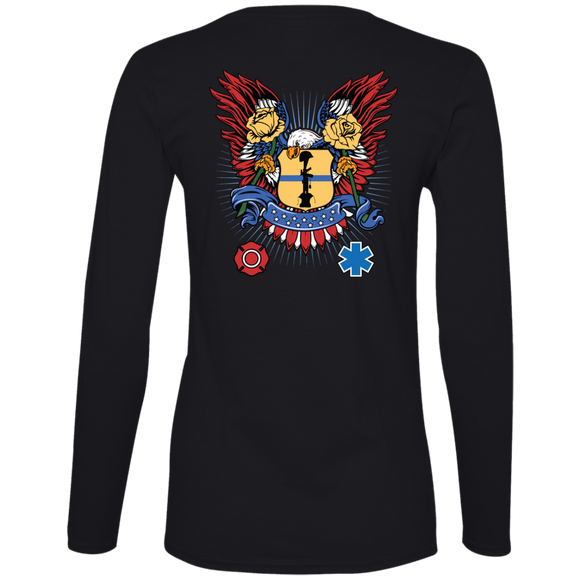 Itus-Virtus Ladies Long-Sleeve Tee