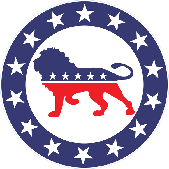 Patriot Party Lion