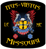 "Itus-Virtus Patch - 4""x4.25"""
