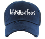 Life Without Doors- Ponytail Hat